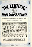 The Kentucky High School Athlete, August 1957