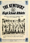 The Kentucky High School Athlete, August 1958
