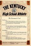 The Kentucky High School Athlete, October 1958