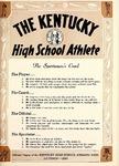 The Kentucky High School Athlete, October 1961