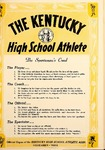 The Kentucky High School Athlete, November 1962