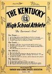 The Kentucky High School Athlete, October 1963