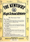 The Kentucky High School Athlete, October 1964