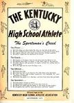 The Kentucky High School Athlete, September 1971