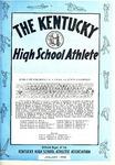 The Kentucky High School Athlete, January 1974