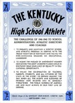 The Kentucky High School Athlete, September 1941