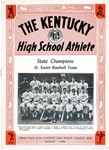 The Kentucky High School Athlete, August 1945