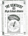 The Kentucky High School Athlete, September 1947