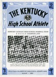 The Kentucky High School Athlete, August 1950