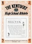 The Kentucky High School Athlete, September 1950