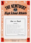 The Kentucky High School Athlete, September 1951