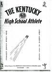 The Kentucky High School Athlete, November 1951