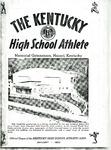 The Kentucky High School Athlete, January 1952