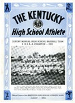 The Kentucky High School Athlete, August 1952