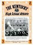 The Kentucky High School Athlete, September 1952