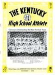 The Kentucky High School Athlete, November 1952