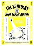 The Kentucky High School Athlete, November 1953