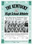 The Kentucky High School Athlete, April 1954