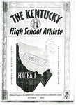 The Kentucky High School Athlete, October 1954