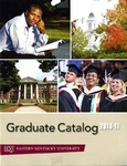 2010-2011 Graduate Catalog by Eastern Kentucky University