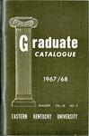 Graduate Catalogue, 1967-1968
