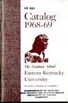Graduate Catalog, 1968-1969