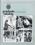 Graduate Catalog, 1984-1986