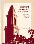 Graduate Catalog, 1995-1997 by Eastern Kentucky University