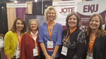 JOTE Board Members at AOTA in Philadelphia for the Launch of JOTE in 2017 by Dana Howell