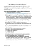SWK 340: Human Subjects Certification Guidelines by Erin Stevenson
