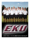 Men's Golf - 2010-11 by Eastern Kentucky University Sports