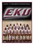 Women's Basketball - 2010-11 by Eastern Kentucky University Sports