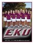Women's Golf - 2010-11