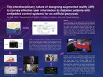 The Interdisciplinary Nature of Designing Augmented Reality (AR) to Convey Effective User Information to Diabetes Patients with Embedded Control Systems for an Artificial Pancreas.