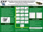Using citizen science to test the abundant center distribution hypothesis in North American amphibian populations