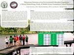 Measuring Outcomes of an Environmental Education Experience: