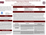 Importance of Social Programming for Employment Success for Adults with Autism Spectrum Disorder