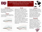 Examination of How the Body Composition of a Female, Collegiate Softball Player Changes Over the Course of a Season and Relationships to Position on the Field.
