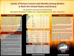 Levels of Serious Leisure and Identity Among Birders  in Both the United States and Greece