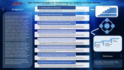 Eight Excellent Strategies for Transforming Your Students into Deep Learners