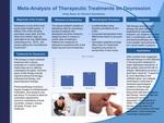 Meta-Analysis of Therapeutic Treatments on Depression