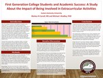 Academic Success for First Generation College Students by Being Involved in Extracurricular Activities