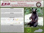 Kentucky  Resident Perceptions of Black Bear Population Management in the Daniel Boone National Forest
