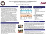 A Study on the impact of local adapted sports teams for the overall disability community by Melissa Hoover