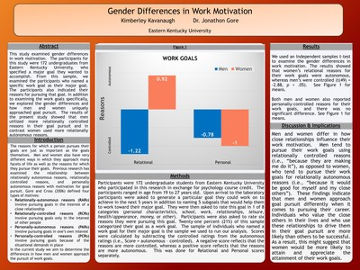 Gender Differences in Work Motivation