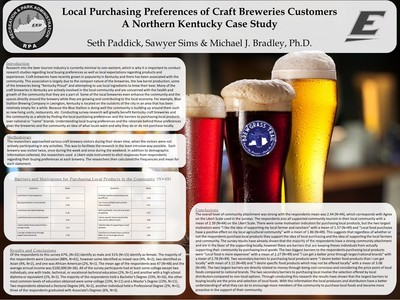 Local Purchasing Preferences of Craft Breweries Customers: A Northern Kentucky Case Study