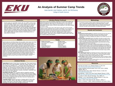 An Analysis of Summer Camp Trends