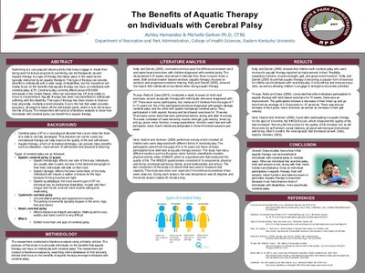 The Benefits of Aquatic Therapy on Individuals with Cerebral Palsy