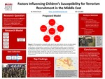 Comprehensive Factors Influencing Child Susceptibility to Terrorism Recruitment in the Middle East