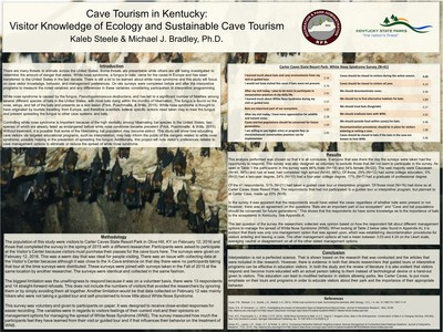 Cave Tourism in Kentucky: Visitor Knowledge of Ecology and Sustainable Cave Tourism